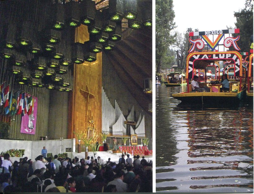 Mexico UNESCO - Historic Centre of Mexico City & Xochimilco