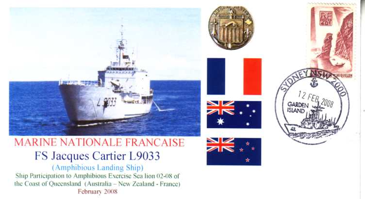 French Ship Jacques Cartier exervise Sea Lion cover
