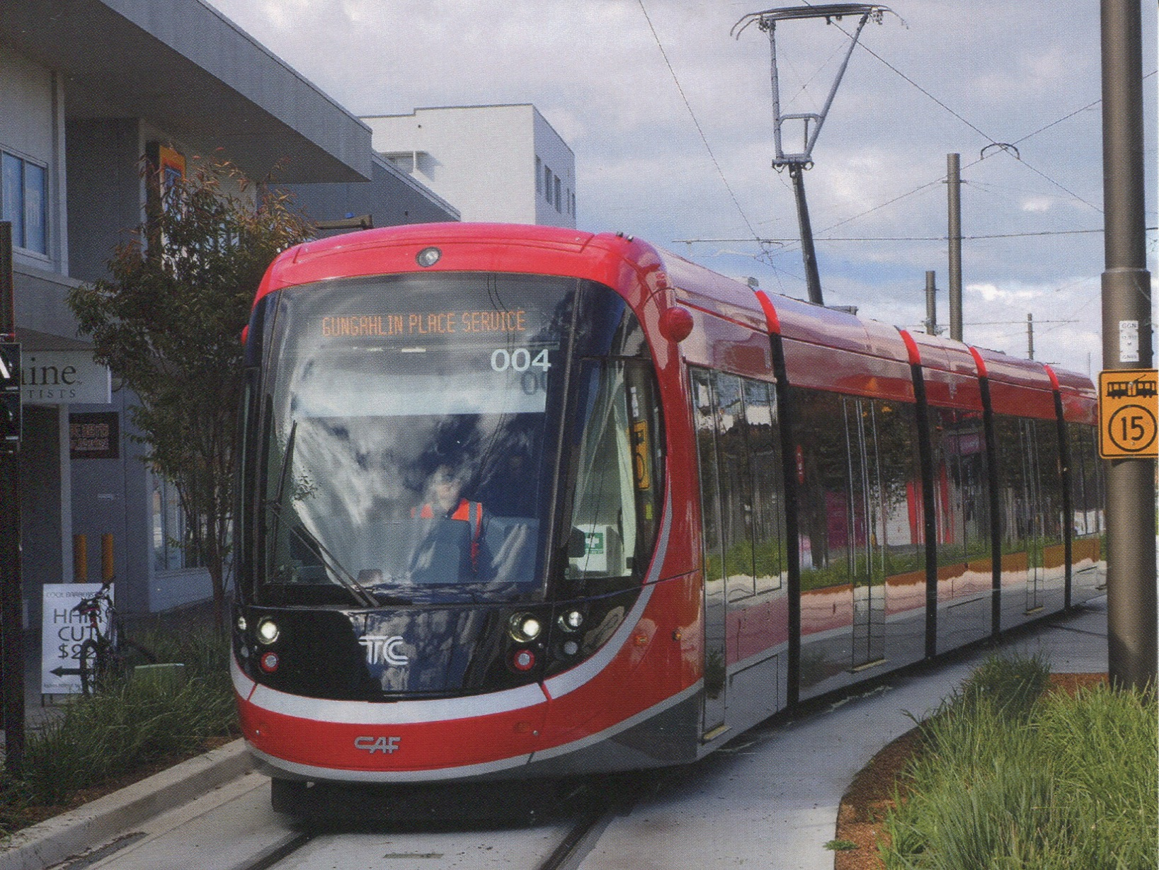 Australia - ACT - City of Canberra Light Rail (Tramway)