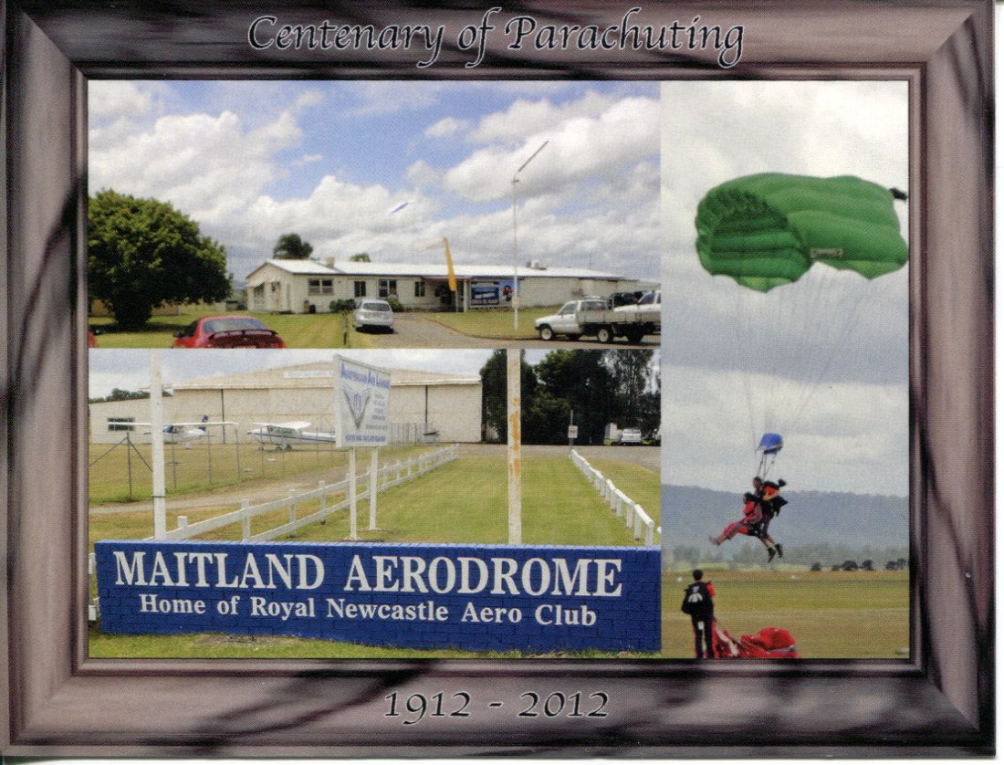 Centenary of First Parachite Jump - Maitland Airport NSW