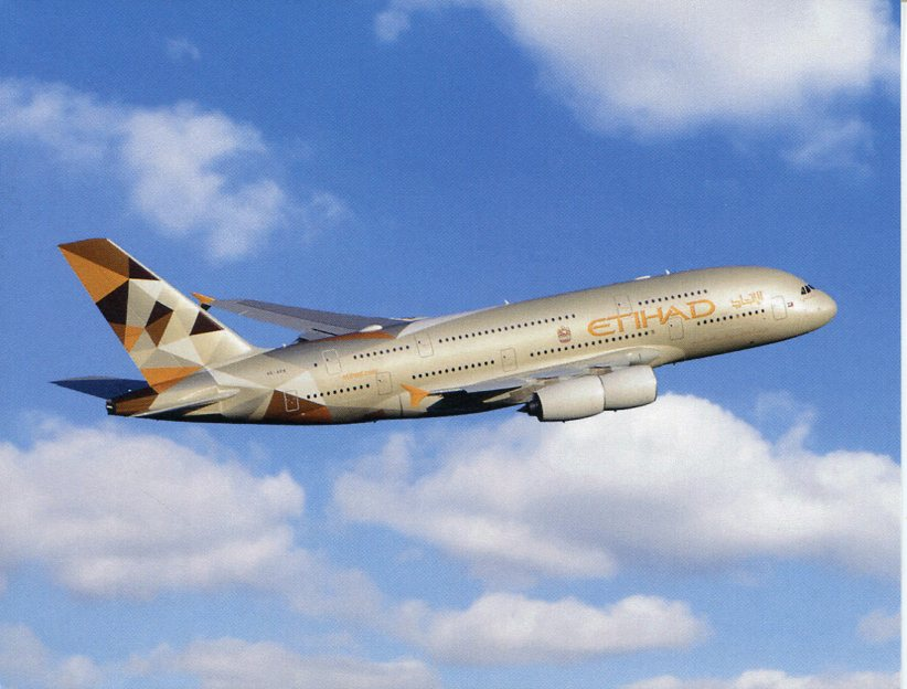 Airbus A 380 - Etihad Airways