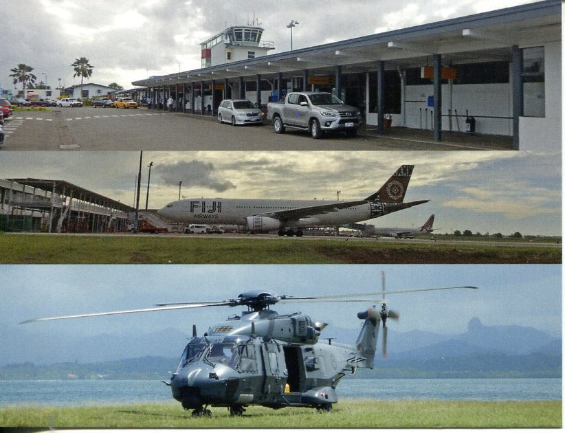 Fiji - Nausauri International Airport