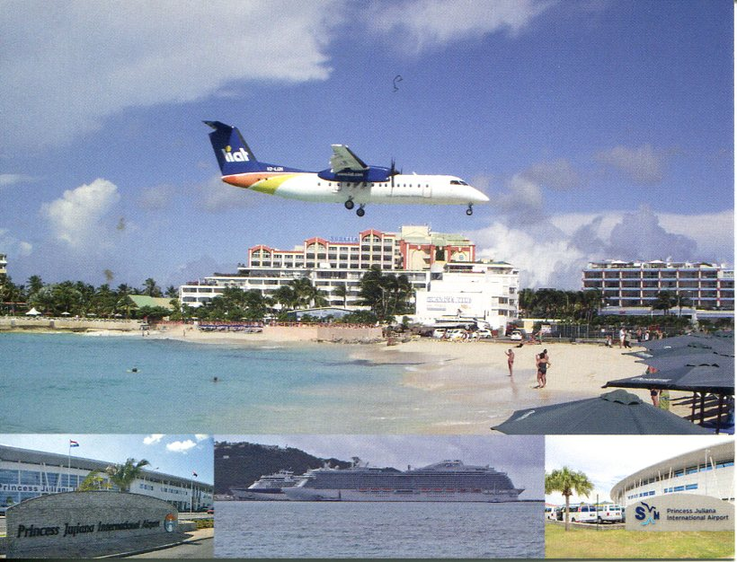 Sint Martin (Saint Martin) Princess Juliana Airport
