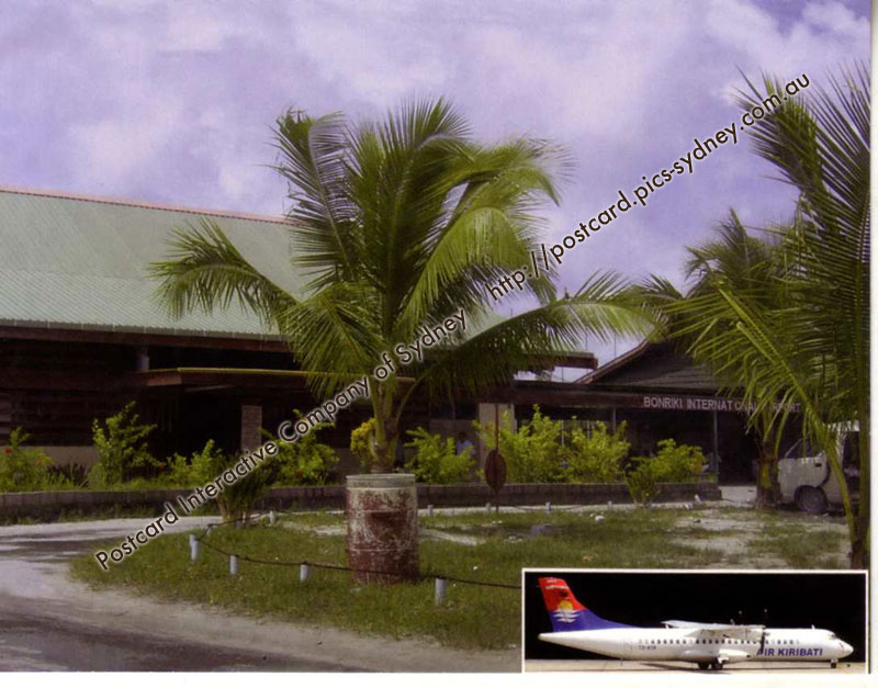 Kiribati - Bonriki International Airport - Tarawa Island