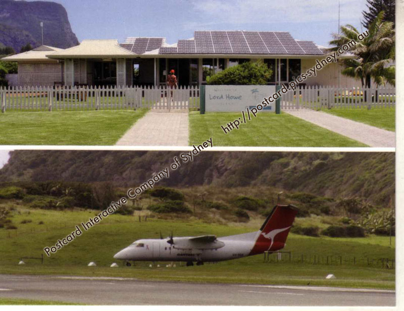 NSW UNESCO - Lord Howe Group (Airport)