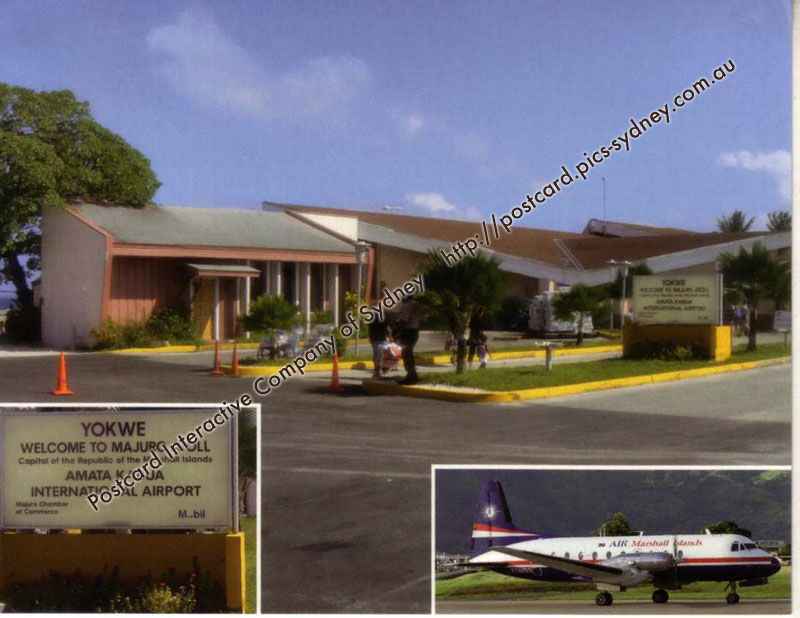 Marshall Islands - Majuro Atool - Amata Kabua Airport