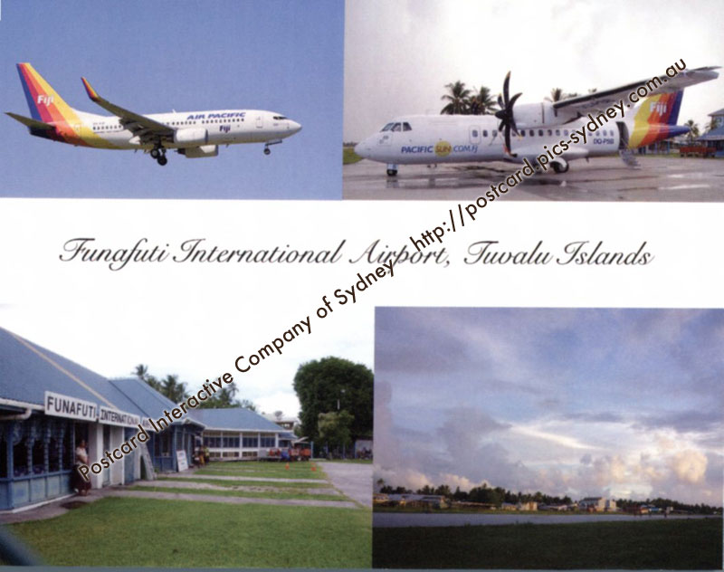 Tuvalu Islands - Funafuti International Airport
