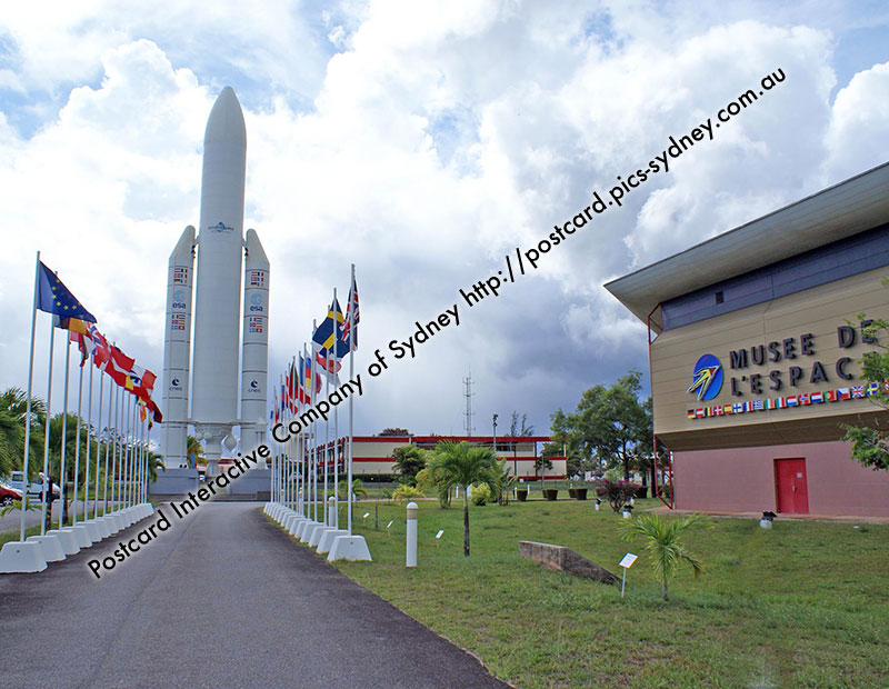 French Guiana - Kourou, French Spaceport & Museum
