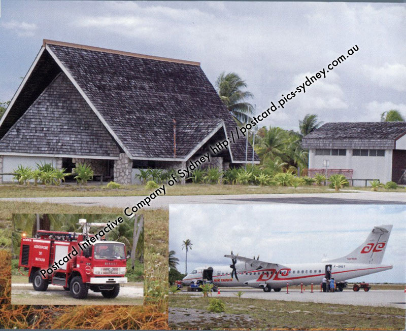 French Polynesia - Mataiva Airport