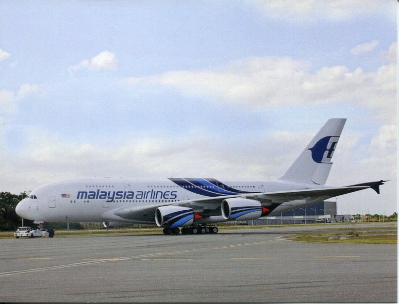 Airbus A380 - Malaysian Airlines