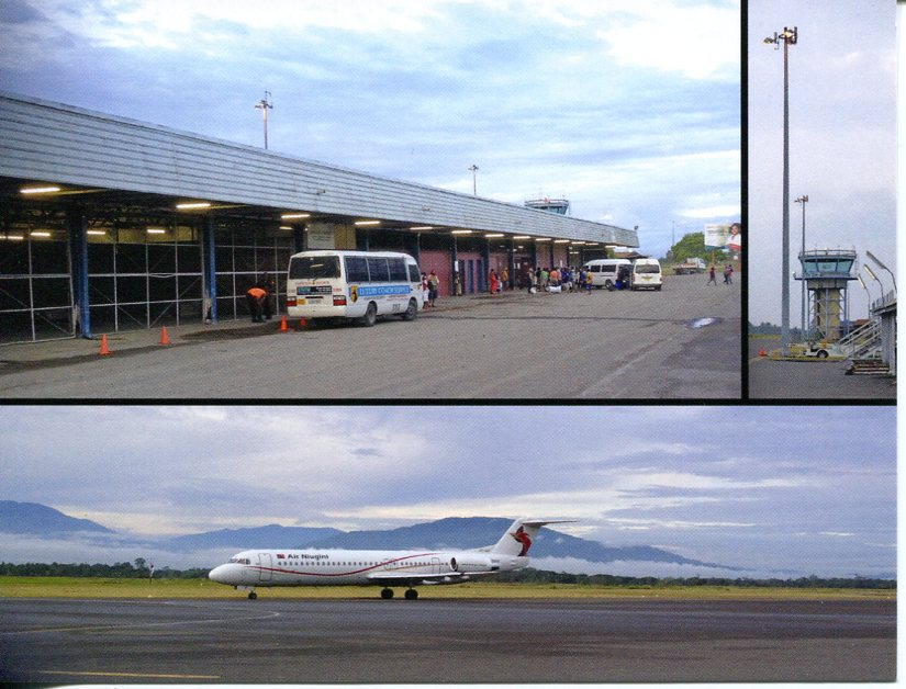 Papua New Guinea - Morobe Province, Nadzab Airport. Lae