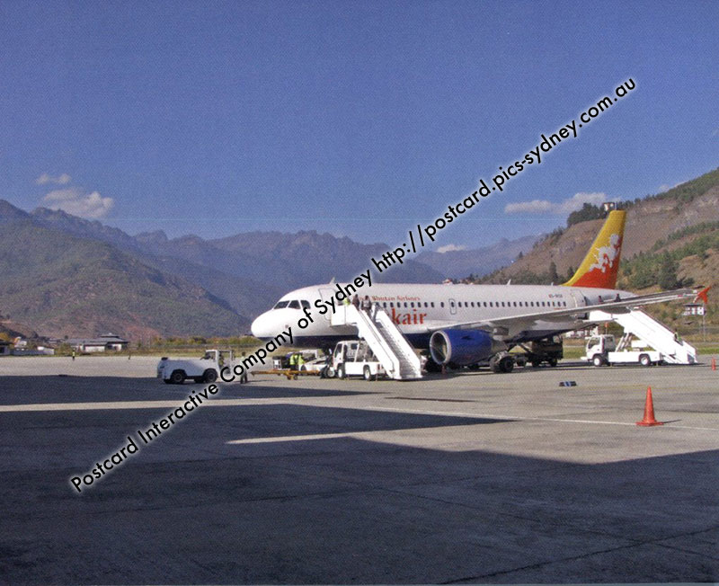 Bhutan - Paro International Airport