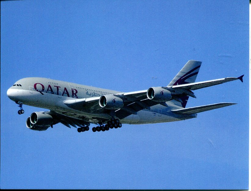 Airbus A 380 - Qatar Airways