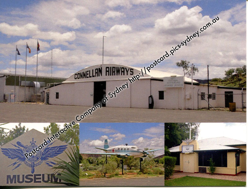 Royal Flying Doctor Services - Alice Springs (old) Airport