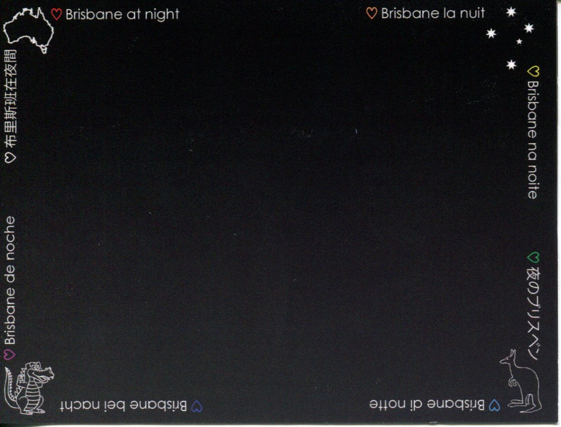 Brisbane at Night (black card)
