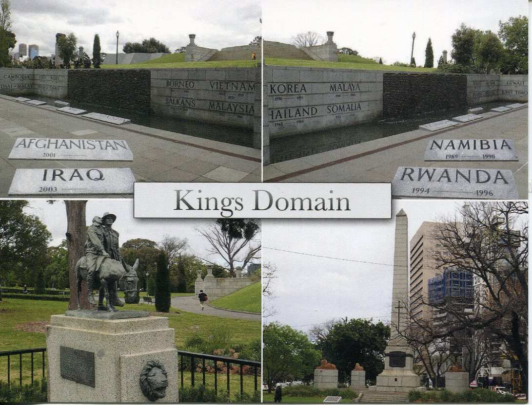 VIC - City of Melbourne - Kings Domain (2)
