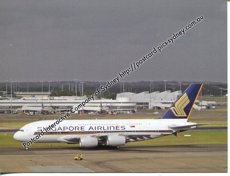 Airbus A380 - Singapore Airlines