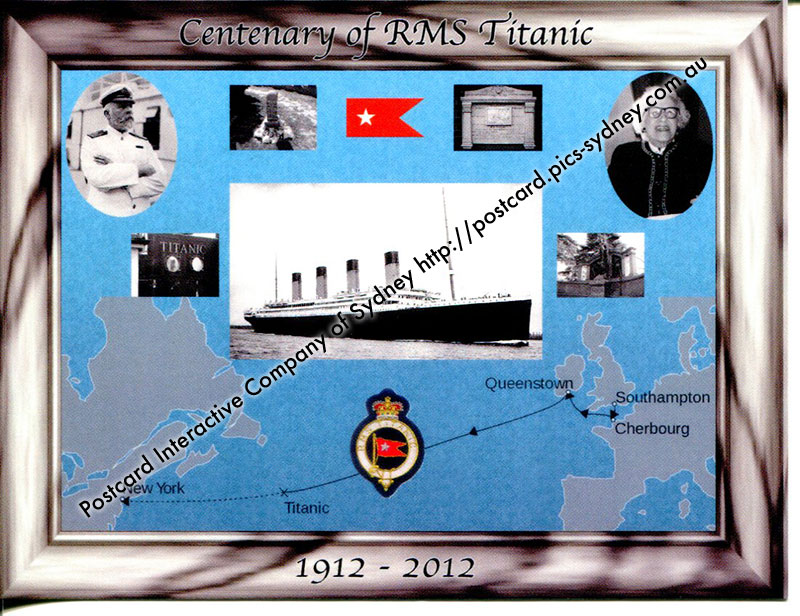 Centenary of (the loss of) RMS Titanic