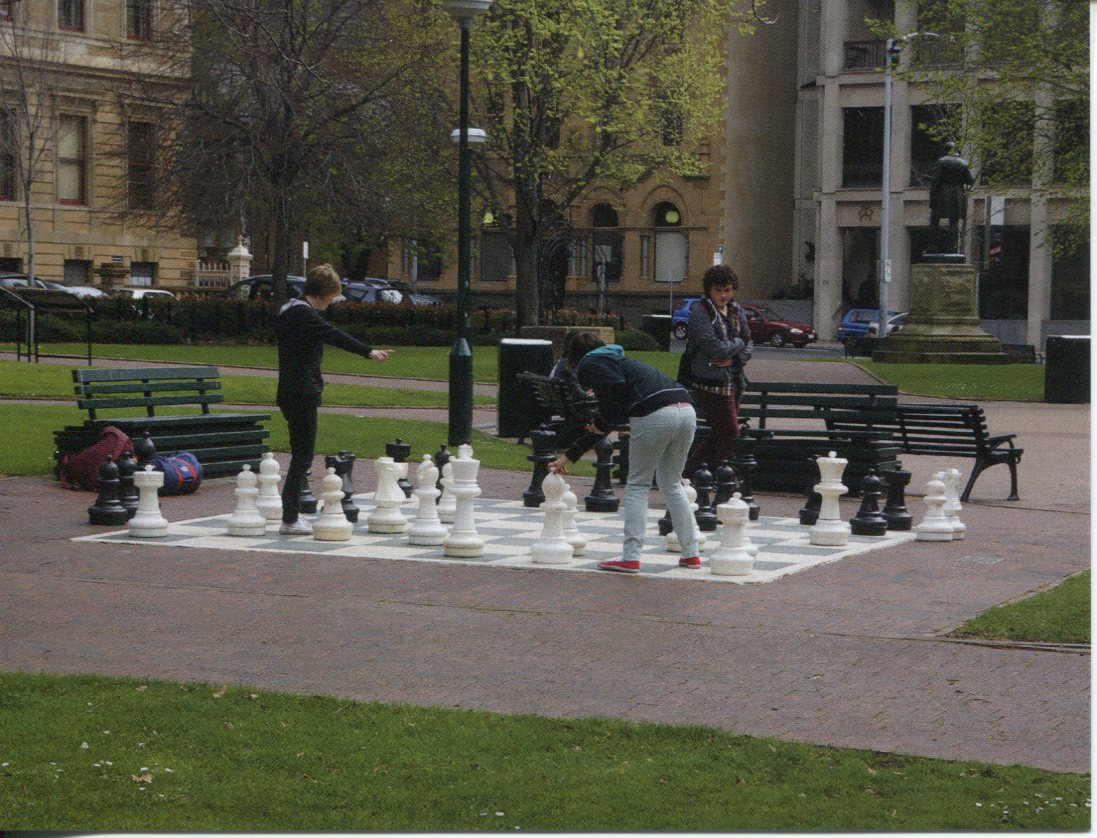 TAS - Franklin Square Giant Chess Board