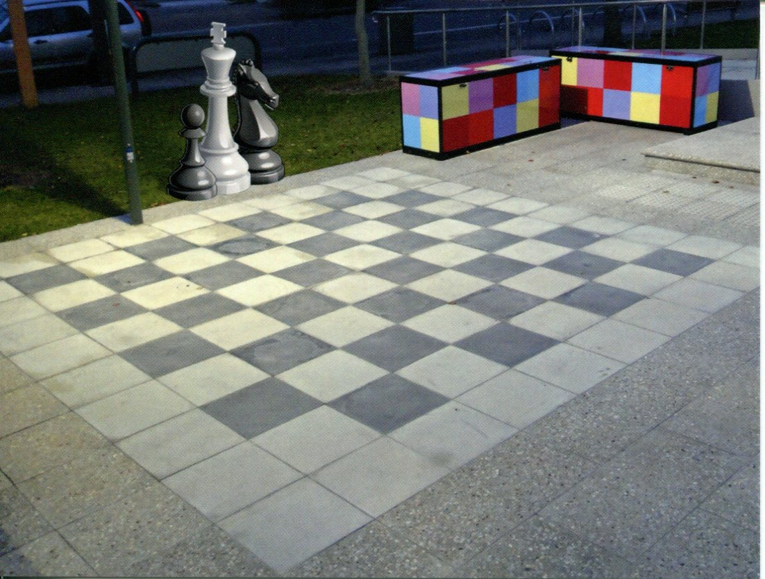 NSW - Padstow Library Giant Chess Board