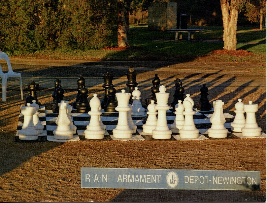 NSW - Armory Newington, Sydney Giant Chess