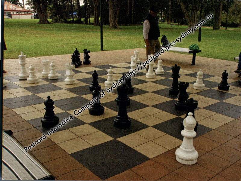 NSW - Burwood Park- Sydney - Giant Chess Board