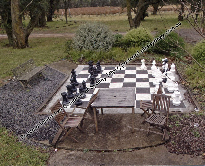 NSW - Bluemetal Vineyard Giant Chess Board