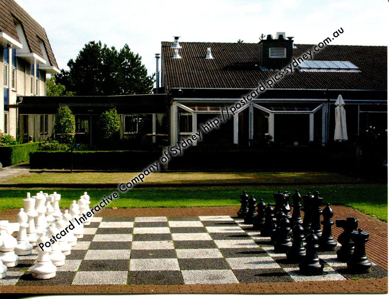 Netherlands - Novotel Breda Giant Chess