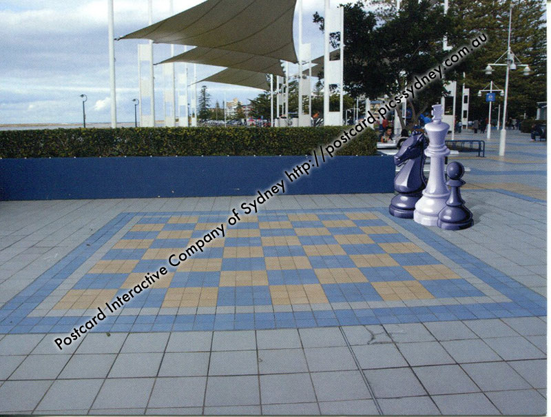 NSW - The Entrance Giant Chess Board