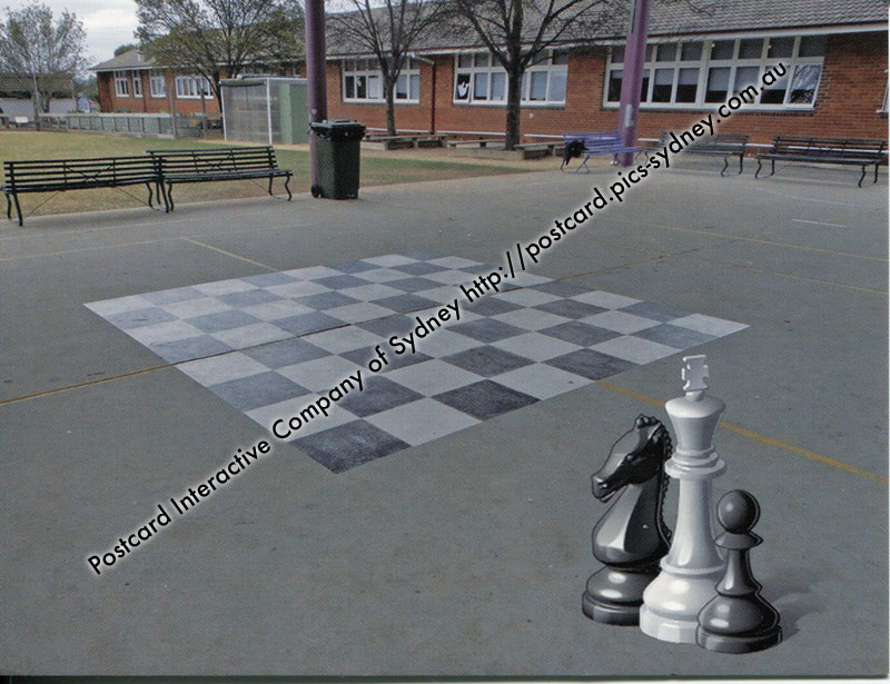 NSW - Goulburn West Public Giant Chess Board
