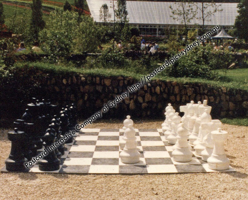 United Kingdom - Monmouth Giant Chess (Wales)