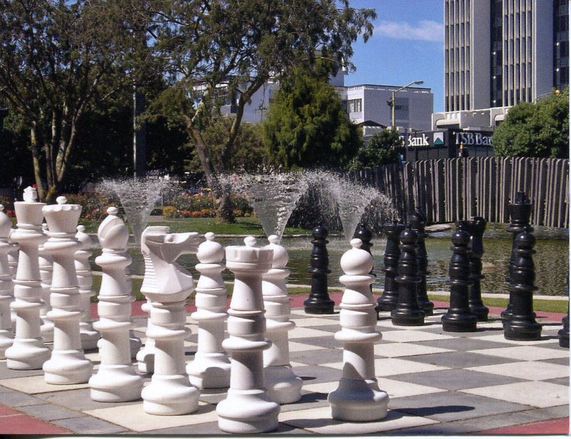 New Zealand - Palmerston North Giant Chess