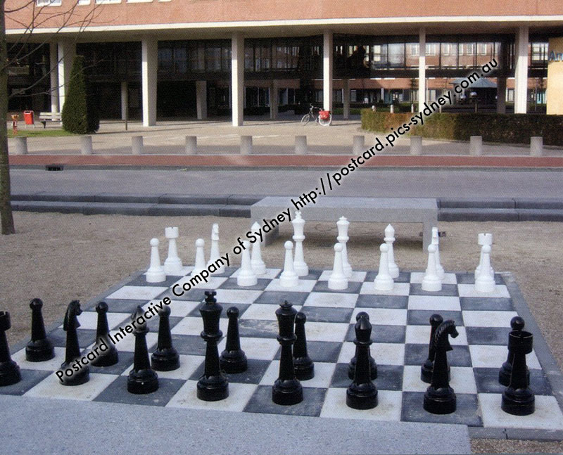 Netherlands - Waalwijk Giant Chess