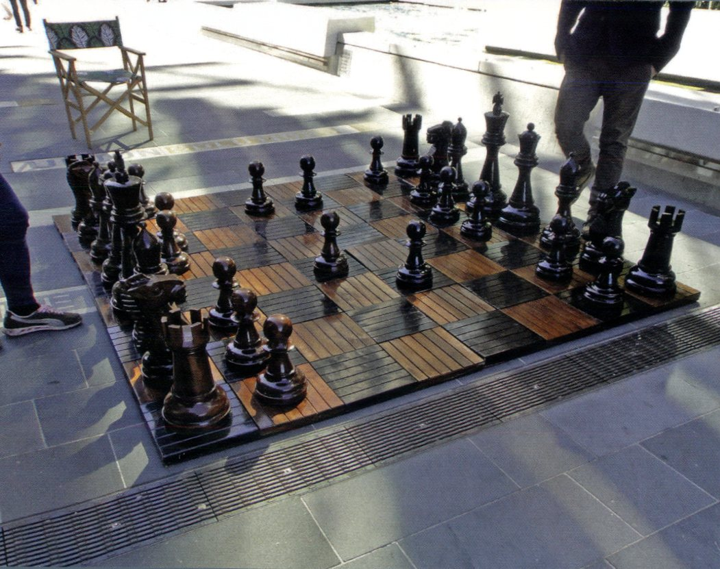 NSW - Darling Harbour Giant Chess Board