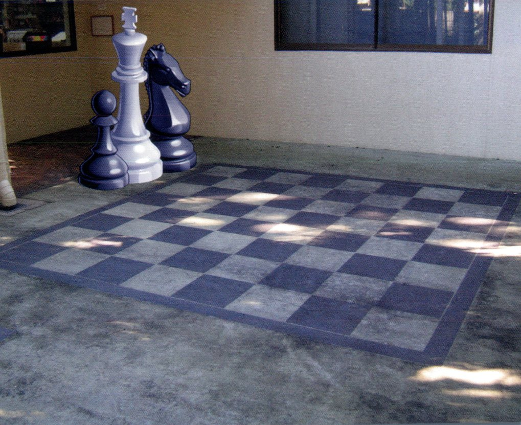 QLD - Kallangur Library Giant Chess Board