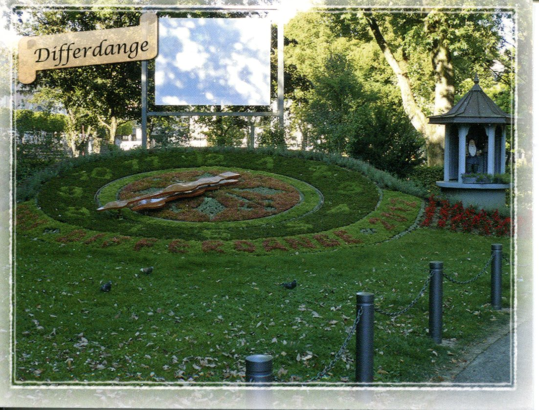 Floral Clock - Luxembourg - Differdange