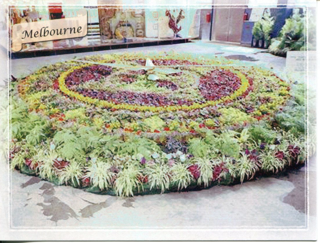 Floral Clock - Australia - Melbourne Exhibition Building