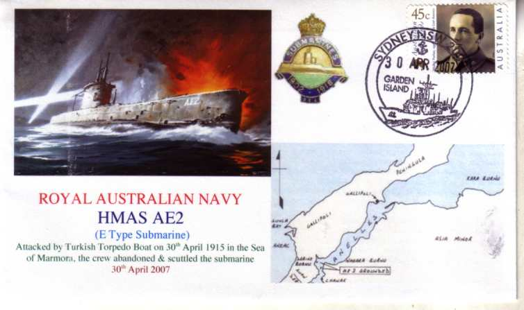 HMAS AE 1 94th Anniversary of Submarine lost