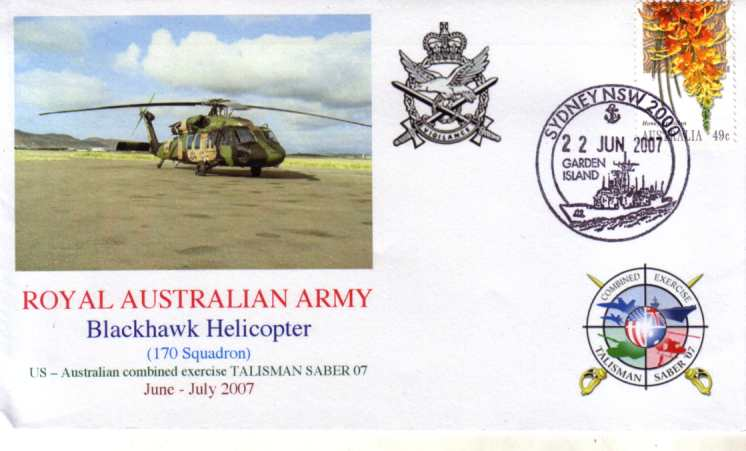 Blackhawk Helicopters Op Talisman Saber 2007 cover
