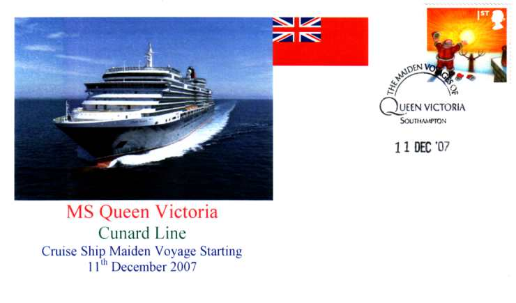 MS Queen Victoria 11th Dec 2007 cover