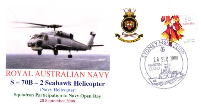 S-70B-2 Seahawk Helicopter Navy Open Day Garden Island 2008