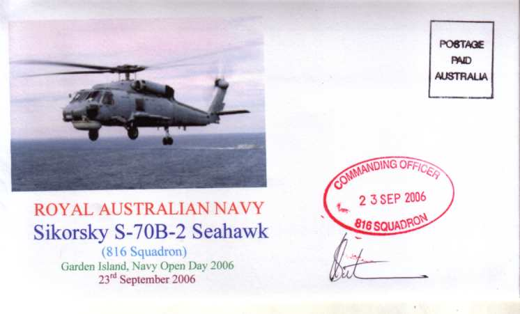 Seahawk Helicopters Navy Open Day 2006 cover