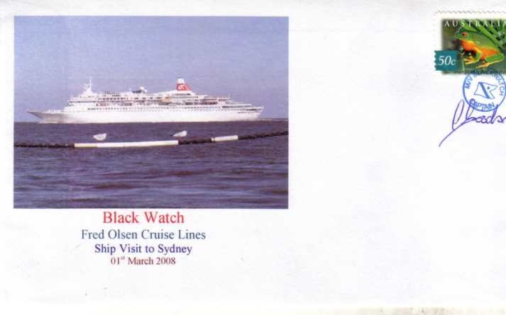 Black Watch cover 2008