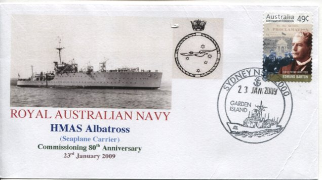 HMAS Albatross 80th anniversary of ship commission