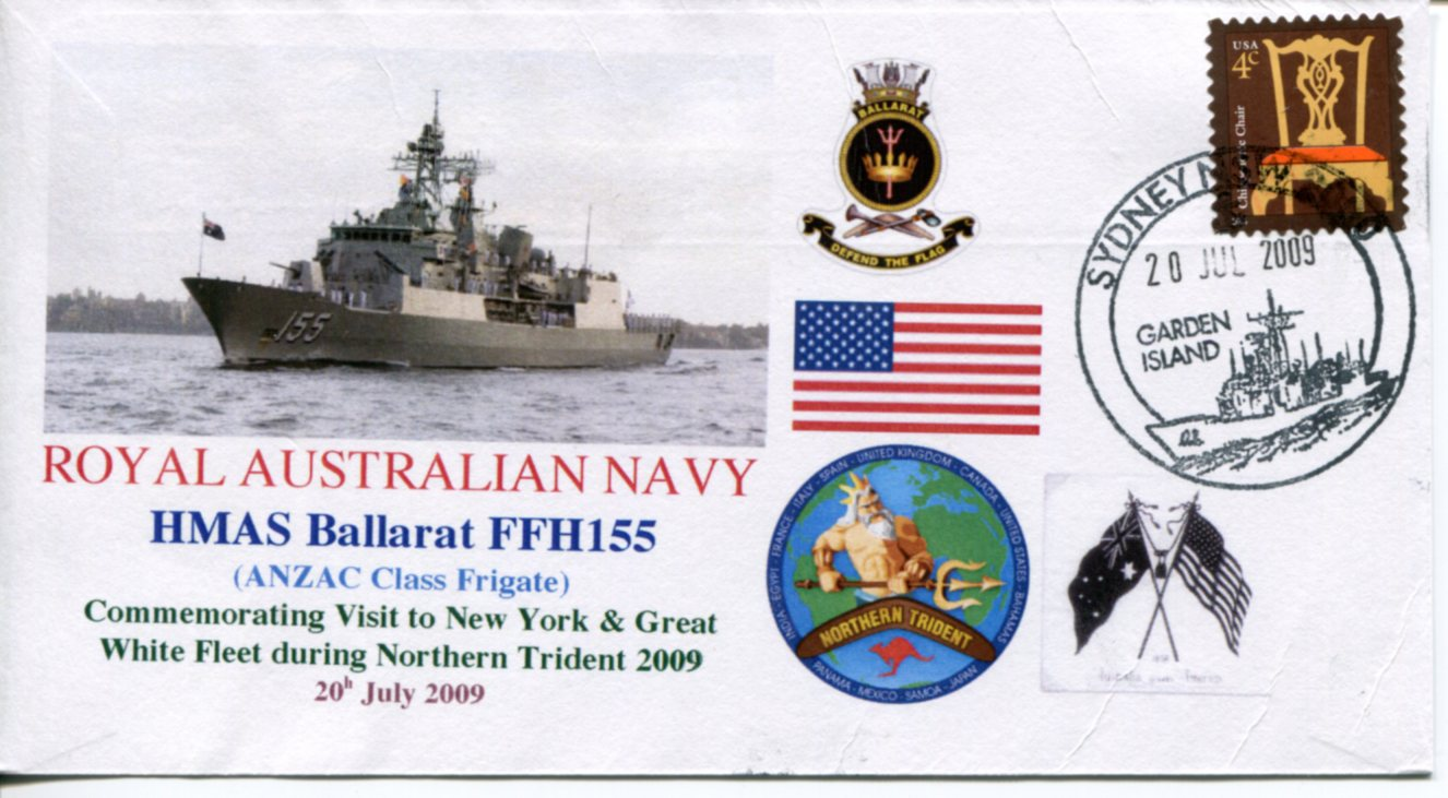 HMAS Ballarat Northern Trident visit to New York City