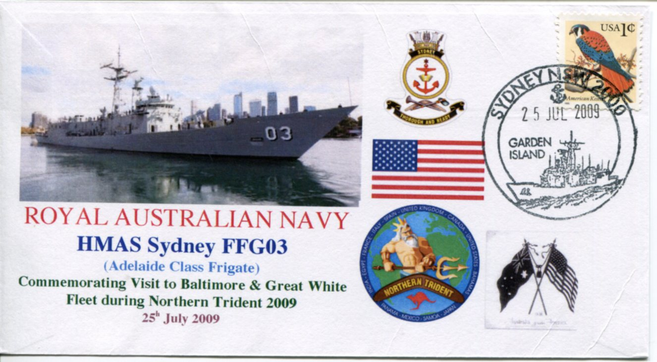 HMAS Sydney - Northern Trident visit to Baltimore (USA)