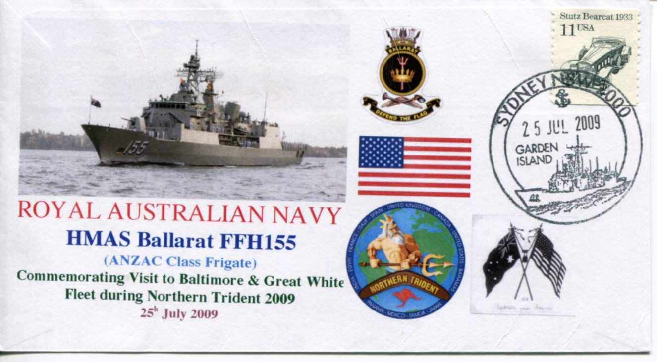 HMAS Ballarat - Northern Trident visit to Baltimore (USA)