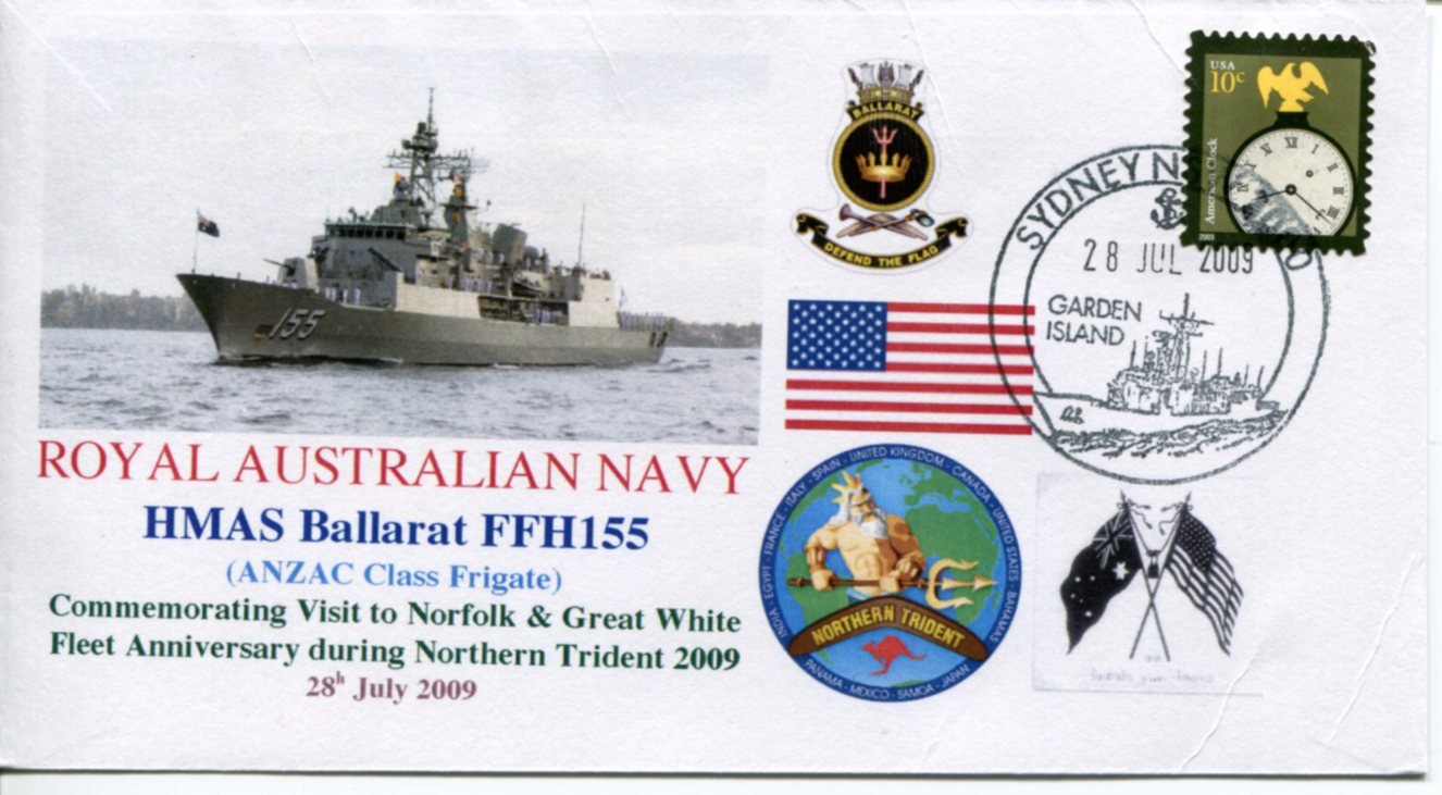 HMAS Ballarat - Northern Trident visit to Norfolk (USA)
