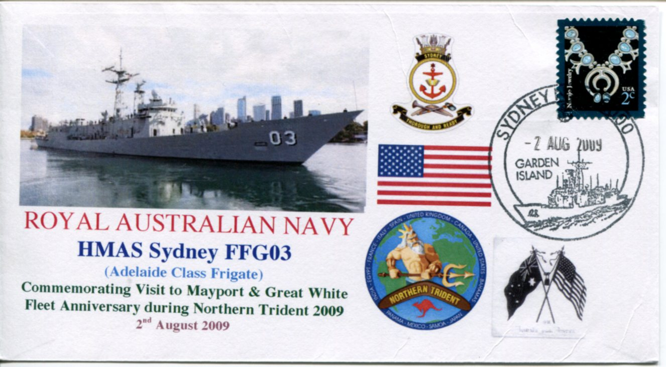 HMAS Ballarat - Northern Trident visit to Mayport (USA)