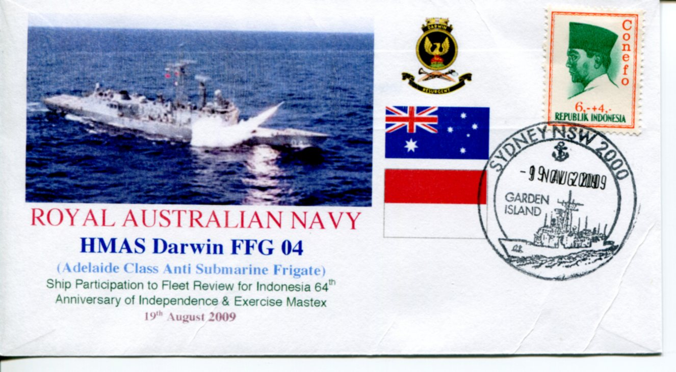 HMAS Darwin visit to Indonesia + Mastex exercise 09